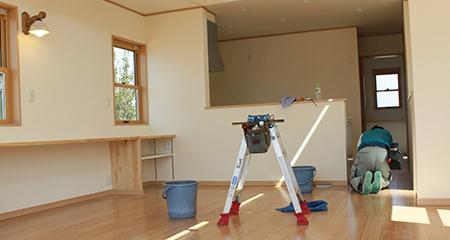 マンション・アパートの空き室まるごとクリーニング画像